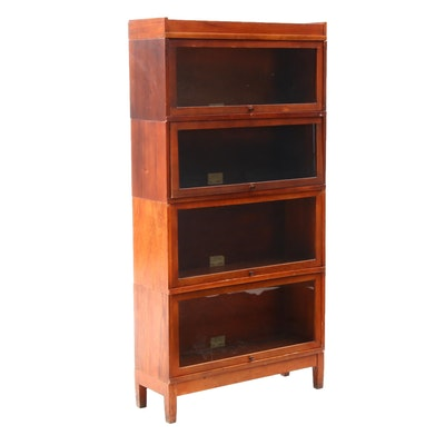 Globe-Wernicke Birch Barrister's Bookcase, Early to Mid-20th Century
