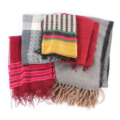 Women's Scarves Including DKNY
