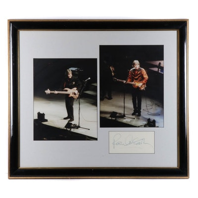 Paul McCartney Autographed Memorabilia
