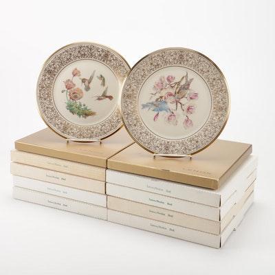"Lenox ""Boehm Birds"" Collector Plates"