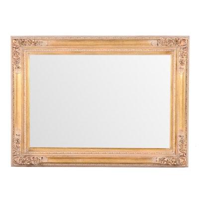 Rectangular Giltwood Wall Mirror