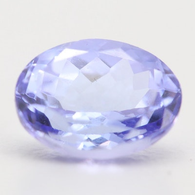 Loose 1.73 CT Tanzanite Gemstone
