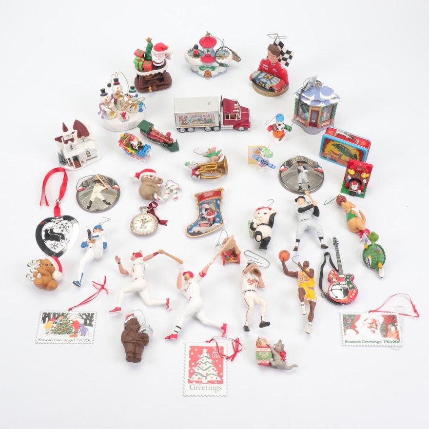 Christmas Ornaments Featuring Hallmark Keepsake