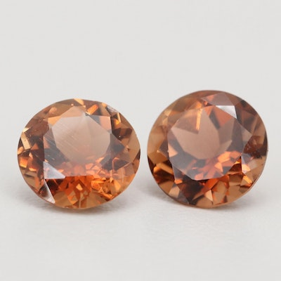 Loose 4.32 CT Topaz Gemstones