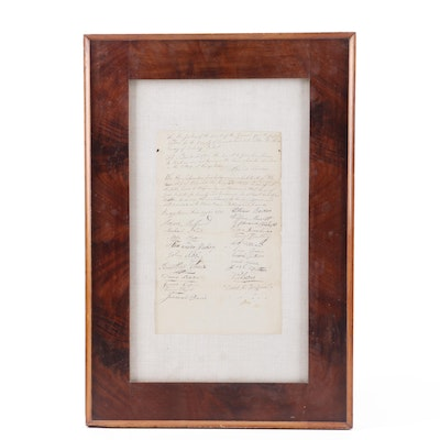 1815 Petition to the Justices of the Court for the County of Cumberland, NJ