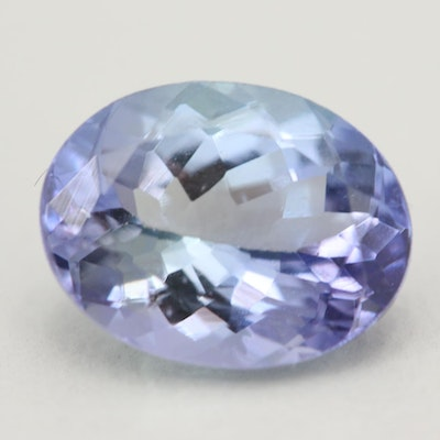 Loose 2.26 CT Tanzanite Gemstone