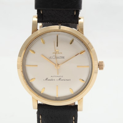 Vintage Jaeger LeCoultre Master Mariner Automatic Gold-Filled 35MM Watch