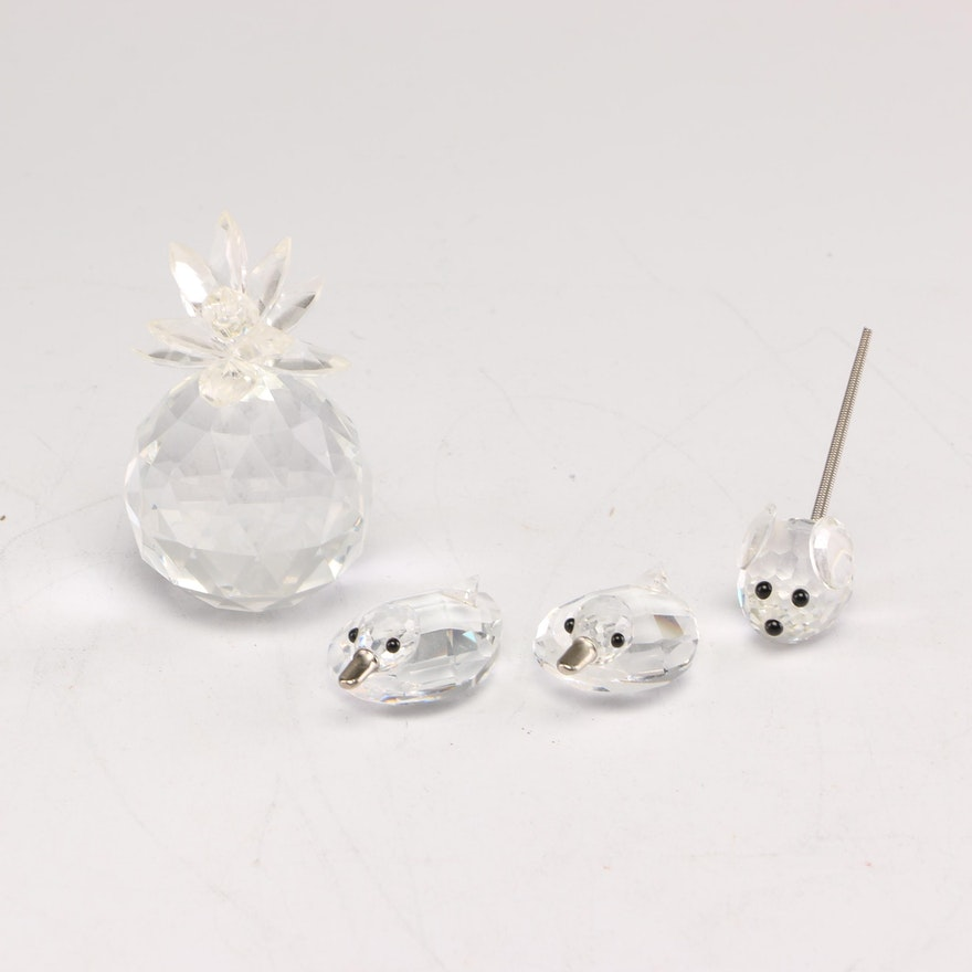 Swarovski and Other Crystal Figurines