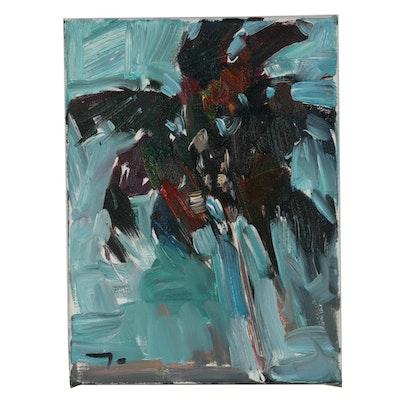 Jose Trujillo 2019 Abstract Oil Painting