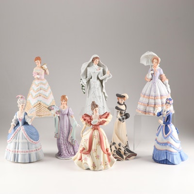"Lenox Porcelain ""American Fashion"" Figurines"