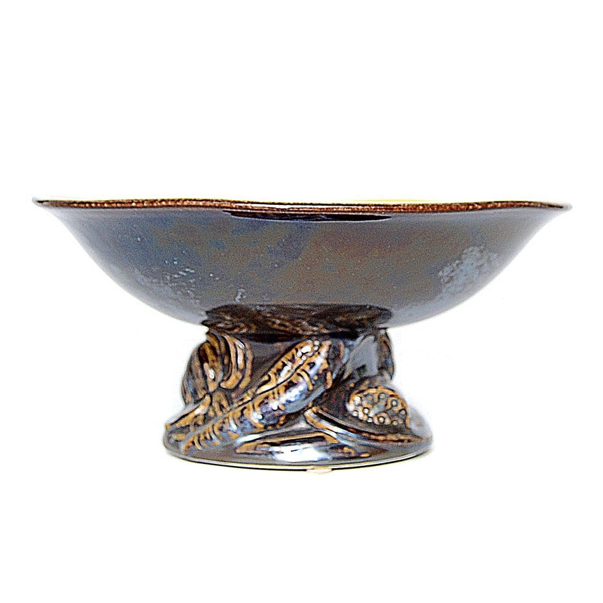 Rookwood Pottery Compote, 1924