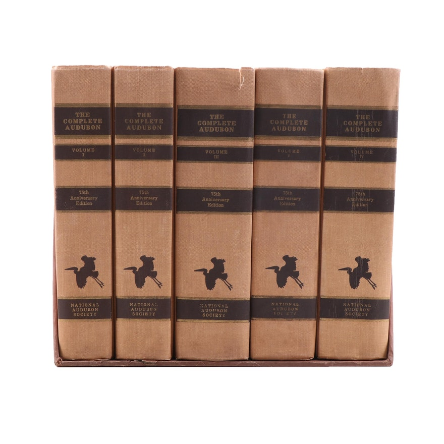 """The Complete Audubon"" 75th Anniversary Edition Complete Five Volume Set"