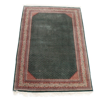 "Pande Cameron Hand-Knotted ""Nizam"" Indian Wool Area Rug, Late 20th Century"