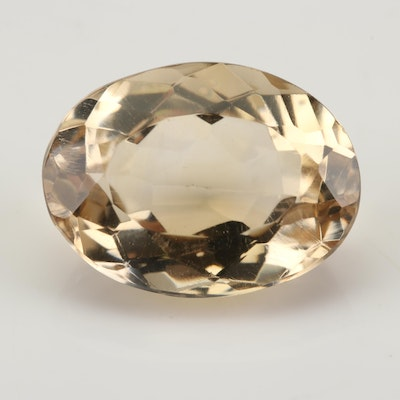 Loose 13.89 CT Citrine