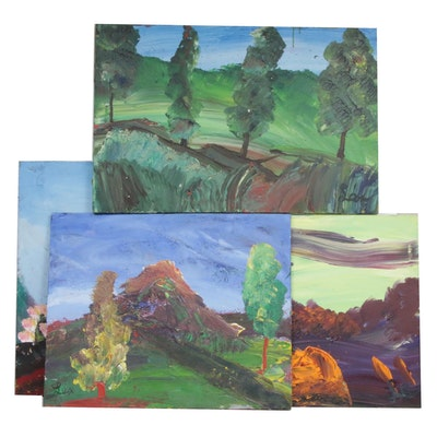 Lex Landscape Acrylic Paintings