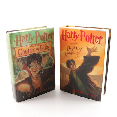 First American Edition Harry Potter Volumes