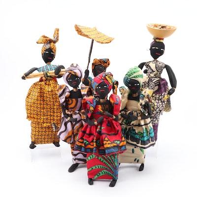 Handmade African Women Dolls