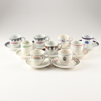 Restaurant Demitasse Cups and Saucers