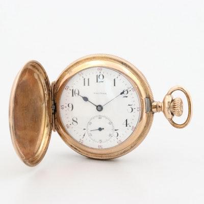 Antique Waltham Gold Filled Pocket Watch, 1900