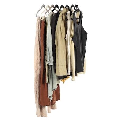 Cynthia Ashby Casual Skirts, Pants, Sleeveless Tops, and Shirts