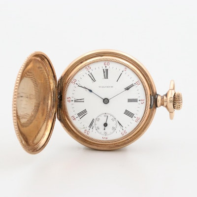 Antique Waltham Gold Filled Pocket Watch, 1902