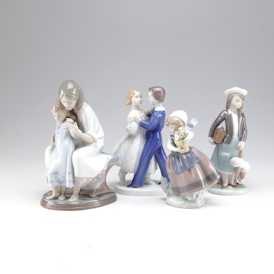 Lladró and Bing & Grøndahl Porcelain Figurines