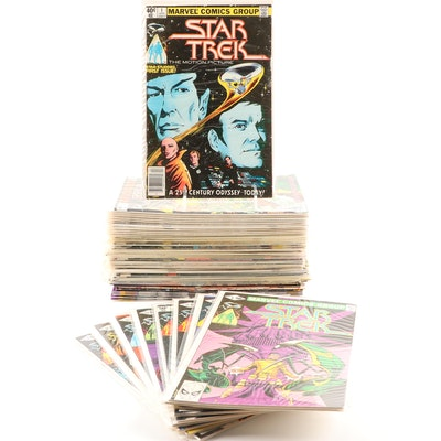 """Star Trek"" Marvel Comics Featuring  ""Star Trek"" 1980-1982 #1-18"