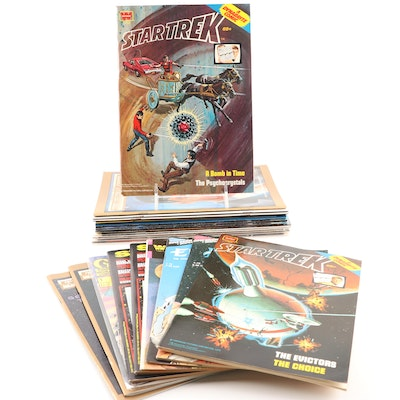"""Star Trek"" Comic Books Featuring Whitman 1978 Issues"