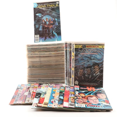 """Star Trek"" DC Comics Featuring 1984 1st Series and 1989 2nd Series"