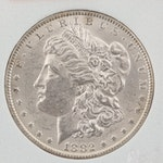 1882 Silver Morgan Dollar