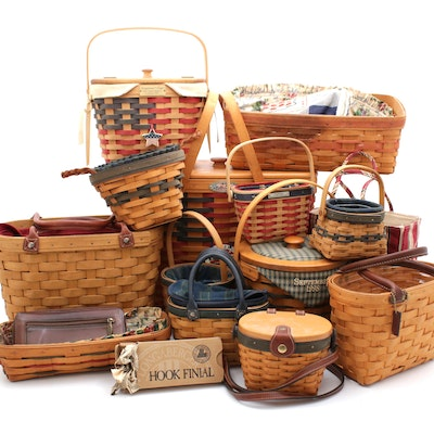 Summer Seasonal Longaberger Basket Collection