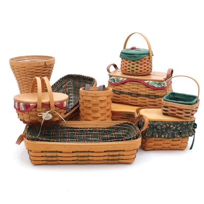 Winter Season Longaberger Basket Collection