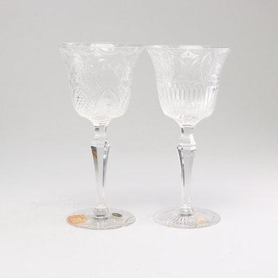 Seneca Glass Company Stemware