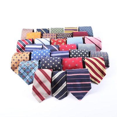 Brooks Brothers, Bert Pulitzer, Lord & Taylor, and More Silk Neckties