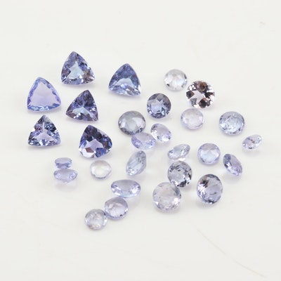 Loose 3.38 CTW Tanzanite Gemstones