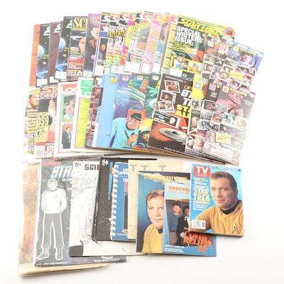 """Star Trek"" Magazines, Activity Books, Stamps and Stamp Book"