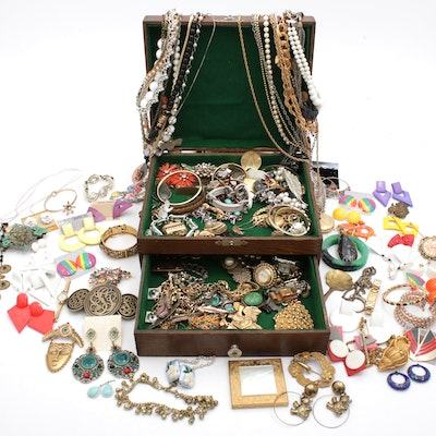 Costume Jewelry Necklaces, Bracelets, and Earrings
