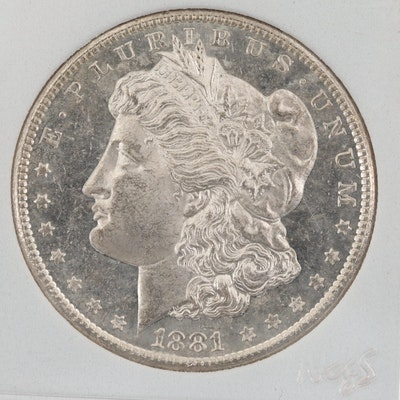 1881-S Silver Morgan Dollar