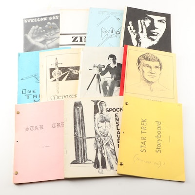 """Star Trek"" Scripts, Storybooks and Zines Including ""LNAF"" By Leonard Nimoy"