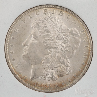 1889 Silver Morgan Dollar