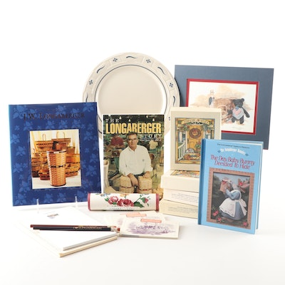 J.W. Longaberger Collectibles and Stationery