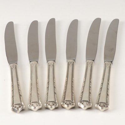 "Fine Arts Sterling Silver Handled ""Processional"" Dinner Knives"