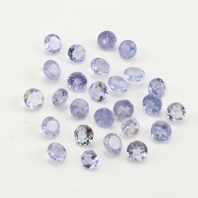 Loose 4.02 CTW Tanzanite Gemstones