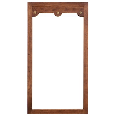 American of Martinsville Wooden Hanging Wall Mirror