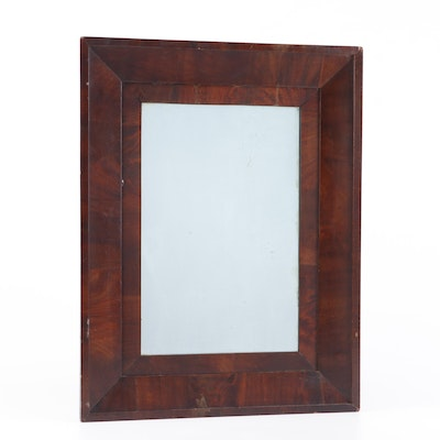 Mahogany Framed Ogee Mirror, 19th Century