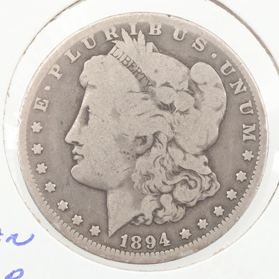 1894-O Silver Morgan Dollar