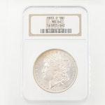 NGC Graded MS64 1883-O Silver Morgan Dollar