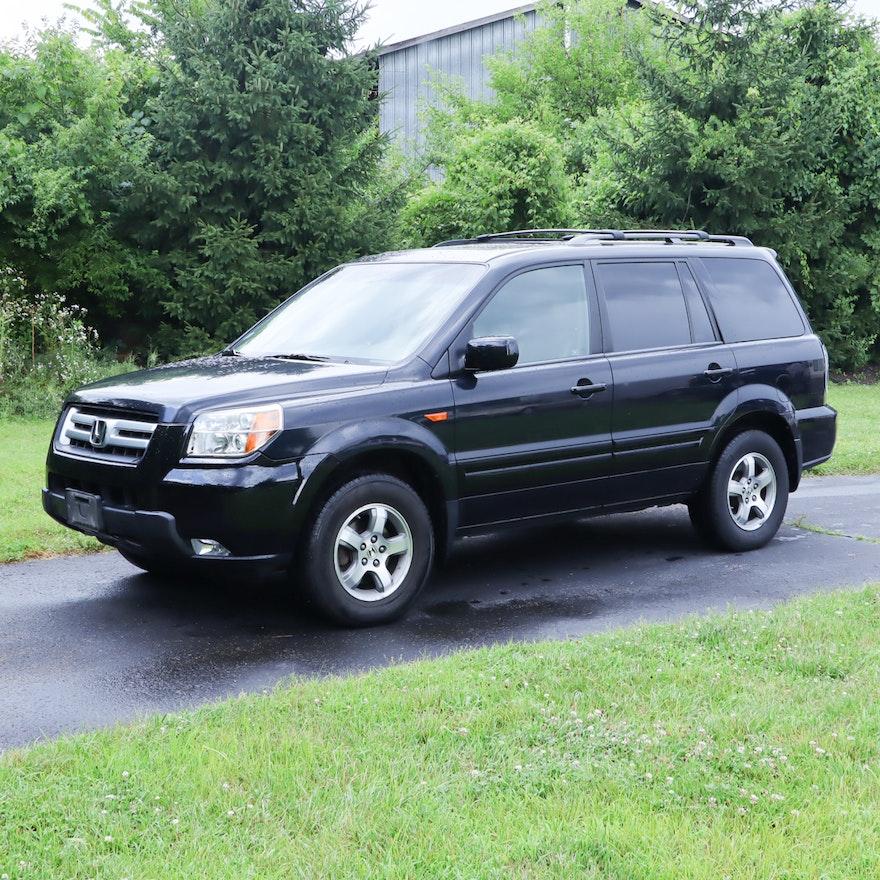 2006 Black Honda Pilot EX 4-Wheel Drive SUV