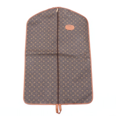 The French Company for Louis Vuitton Garment Bag, 1980s Vintage