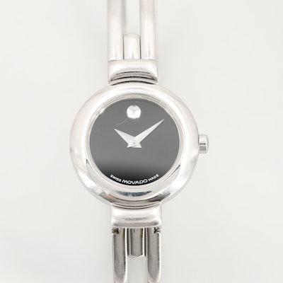 Movado Harmony Stainless Steel Quartz Wristwatch